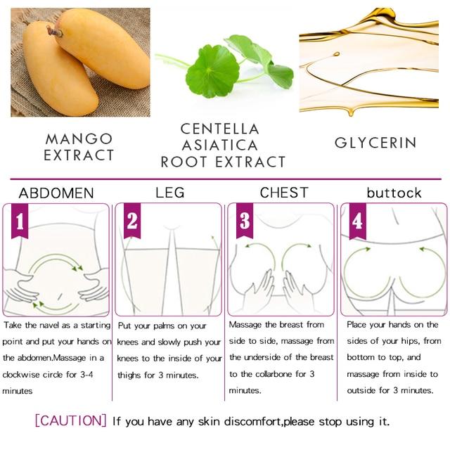 Mango Remove Pregnancy Scars Acne Cream Stretch Marks Treatment Maternity Repair Anti-Aging Anti Winkles Firming Body Creams 3