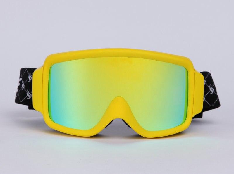 f6b0b7ec4a20a Benice marca profissional À Prova de Vento de Neve Óculos com visão ampla  100% UV 400 óculos óculos óculos de esqui de lente dupla
