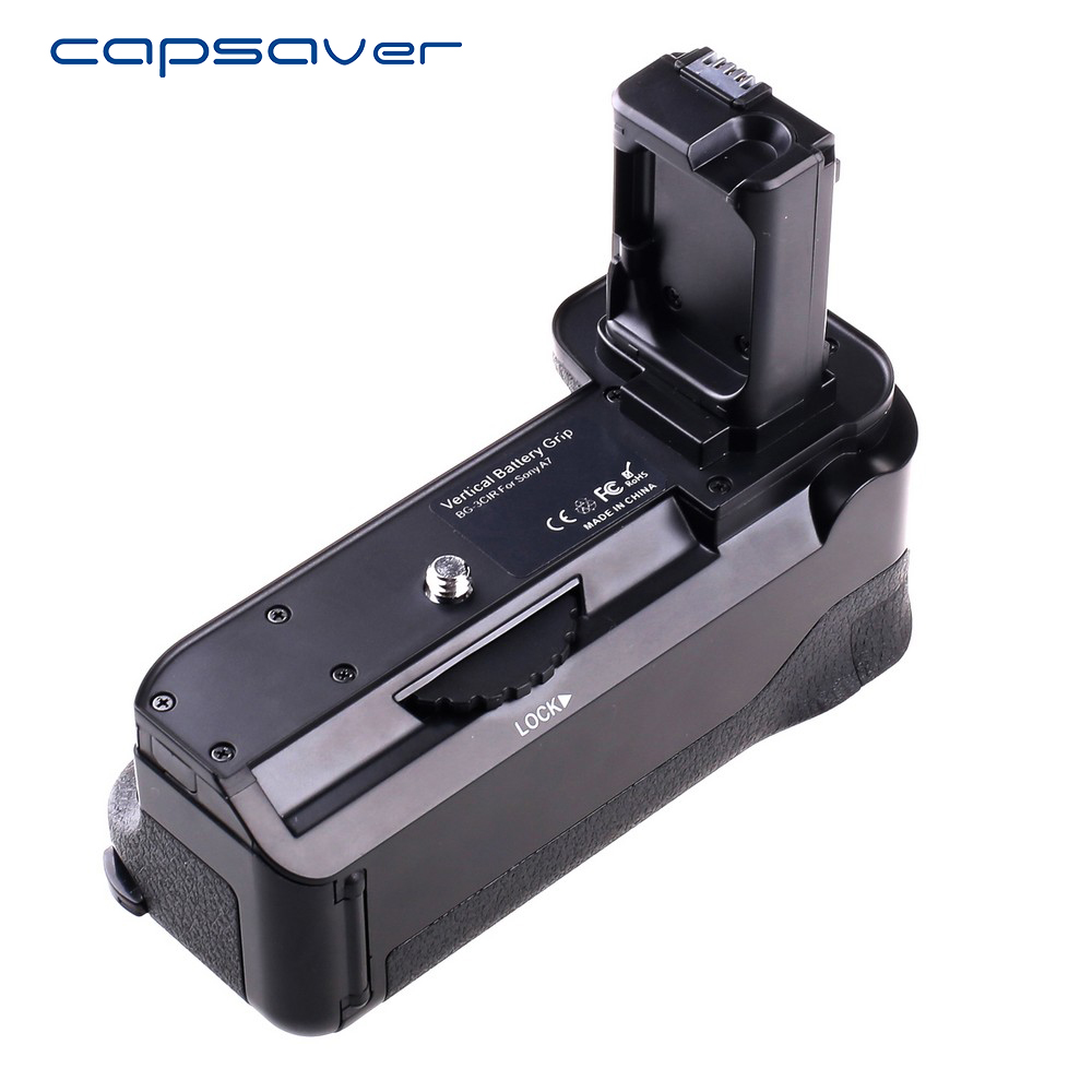 capsaver Vertical font b Battery b font font b Grip b font Holder for SONY A7