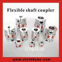 Motor Jaw Shaft Coupler D65xL90 Claw Type Flexible Coupling Inner Hole 15 35mm For CNC Stepper