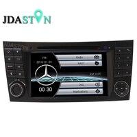 Jdaston 2Din автомобильные мультимедиа для Mercedes Benz E класс W211 E200, E220, E240, E270, E280, E300, E320, E350, E400, E420, E55Radio gps Navi