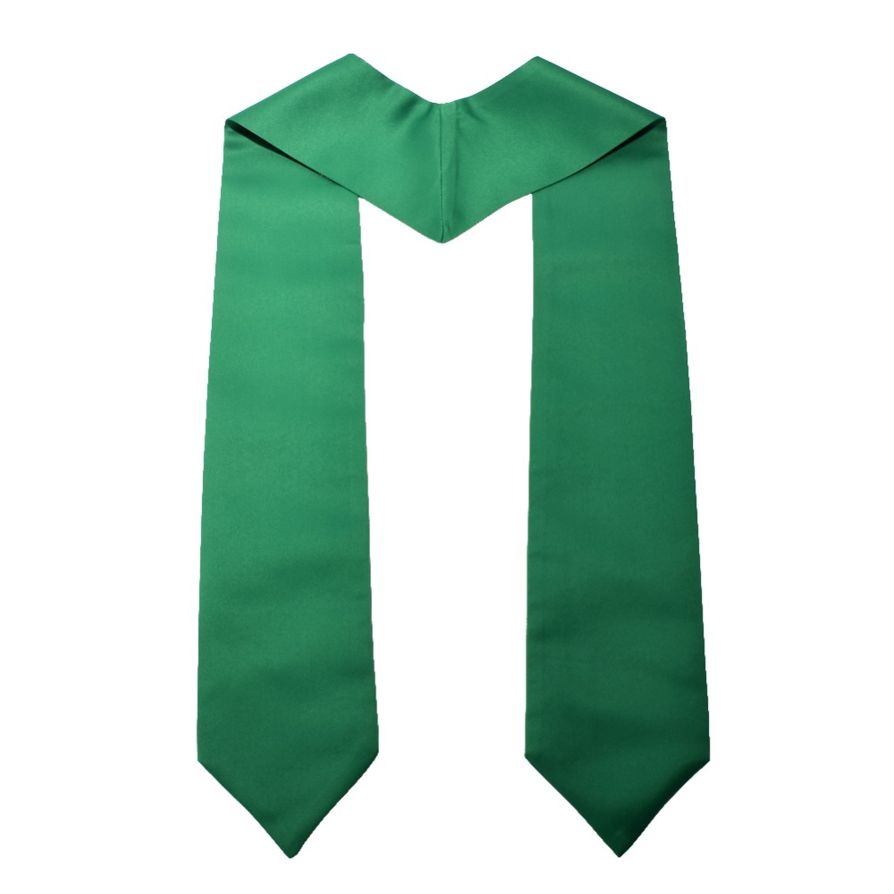 """Image 4 - 1pc Graduation Stole Unisex Adult Plain Students Long Stole 58""""-in Women's Scarves from Apparel Accessories"""