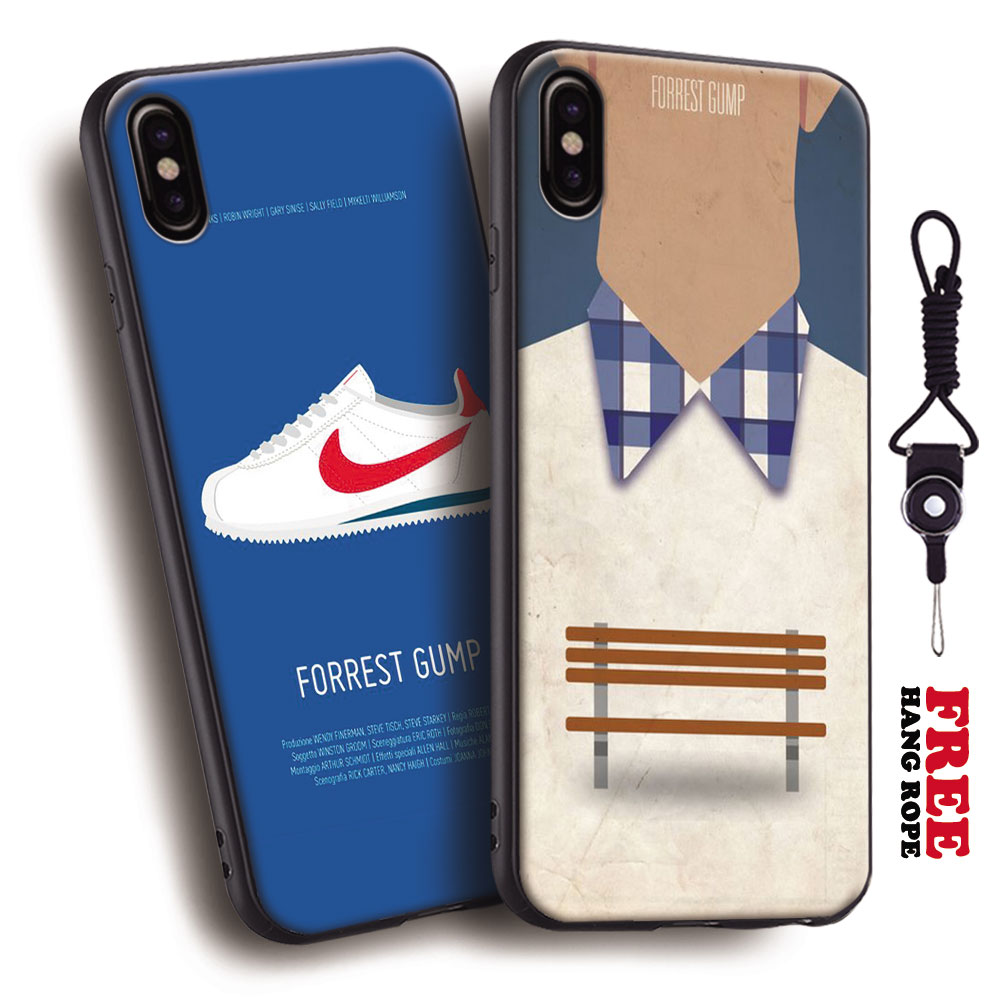711f267ee11656 Forrest Gump minimalist poster Tpu Soft Silicone Phone Case Cover Shell For  Apple iPhone 5 5s
