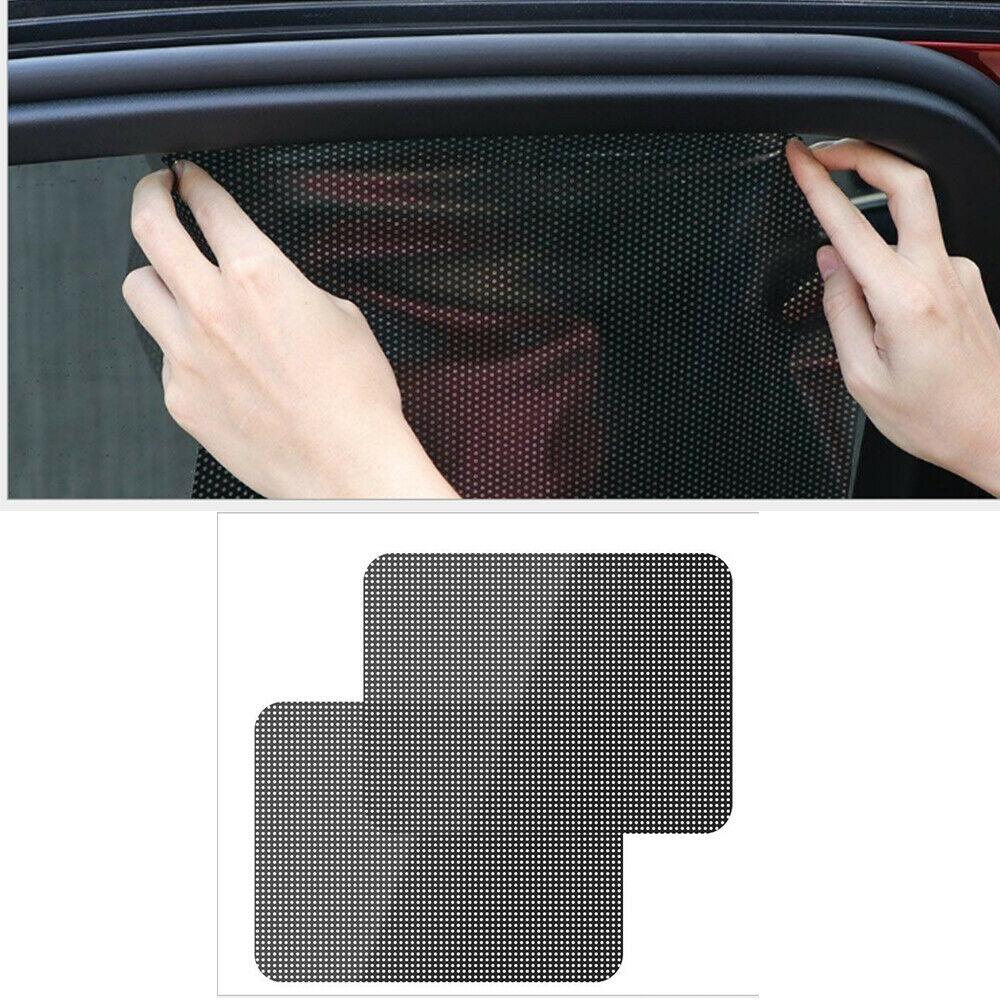2Pcs Auto Car Sticker Sunshade Electrostatic Stickers Auto Sun-shading Stickers