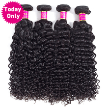 [TODAY ONLY] 4 Bundles Deals Peruvian Water Wave Bundles 100% Human Hair Bundles