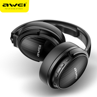 AWEI A780BL Wireless Bluetooth V5.0 Headphones Earbuds ANC Stereo Deep Bass Gaming Headphones With Mic