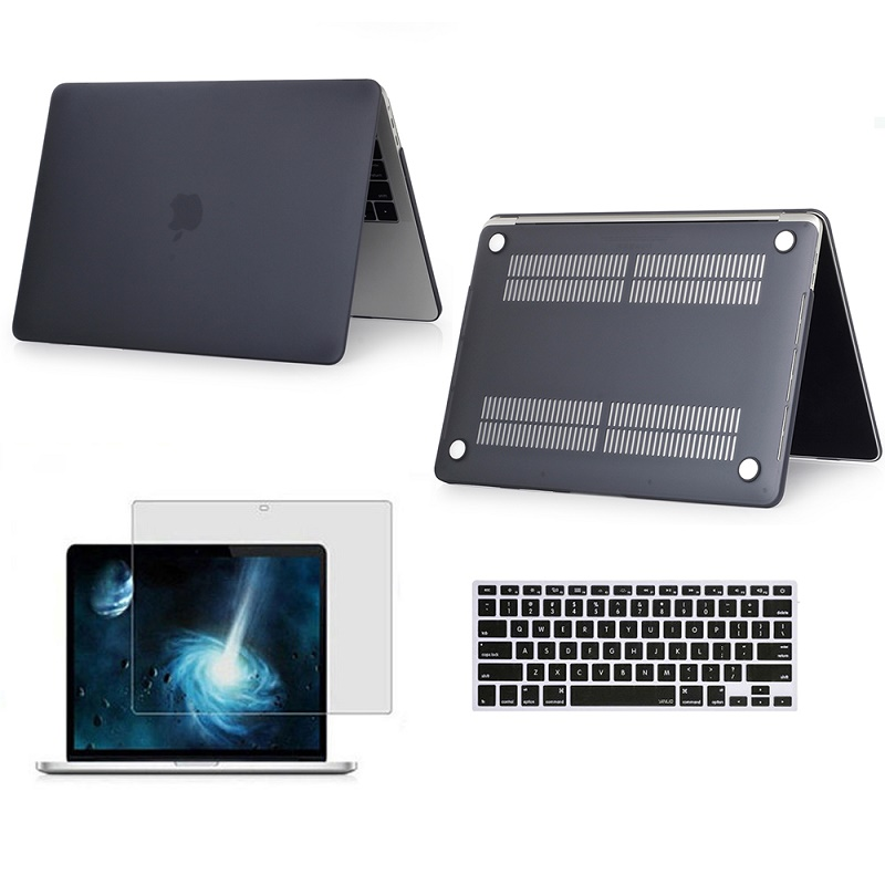 2019 New Frosted Surface Matte Laptop Hard Cover Case Protector For Macbook Air Pro With Retina Touch Bar 11 12 13 15 Inchs