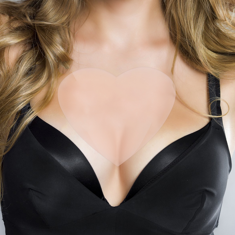 Anti Falten Brust Pad Wiederverwendbare Medical Grade Silikon Unsichtbar Brust Pad Anti-aging Zu Beseitigen Und Zu Verhindern Brust Falten