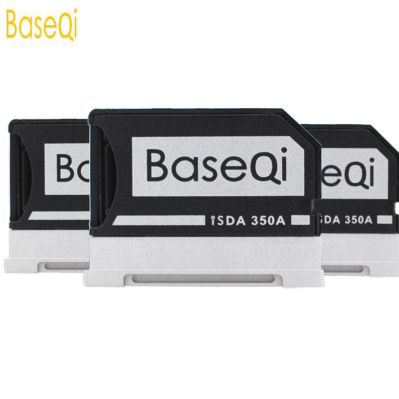 BaseQi Micro SD Adapter For Microsoft Surface Book 13/15Aluminum Card Reader