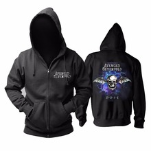 31 дизайн Harajuku череп Avenged Sevenfold A7X рок толстовки оболочка куртка панк тяжелый металл Толстовка молния флис sudadera