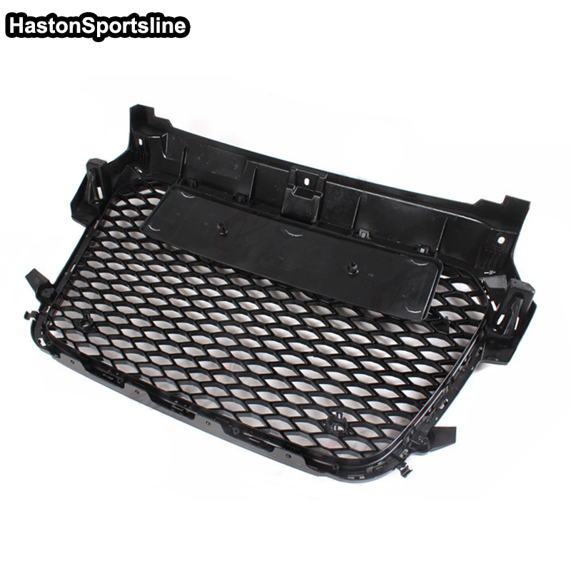 For audi A1 S1 RS1 S Line 2011 2014 black Front mesh Grill Grille Auto Car