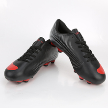 2017 New Football Boots Men Soccer Cleats Bright High Ankle Breathable Football Shoes Original Big Size