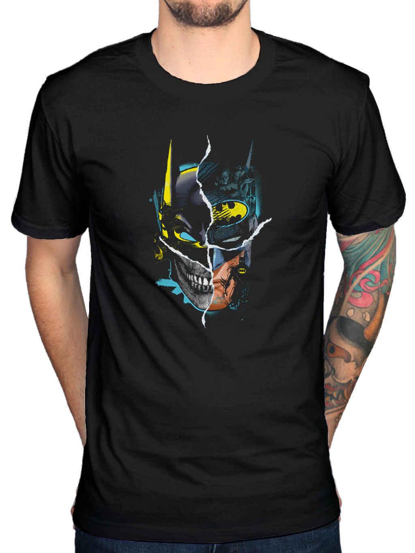 Официальный Бэтмен Готэм лицо Футболка Джокер Робин, женщина-кошка Pengiun