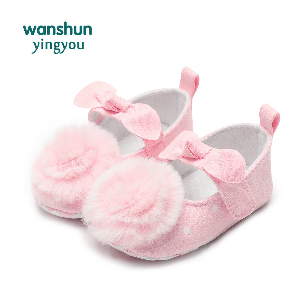 baby shoes pink girl crib shoes new