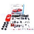1:18 Jumbo tamaño grande del Metal DIY Asssembled cena vehículo Modle juguetes para los niños regalo