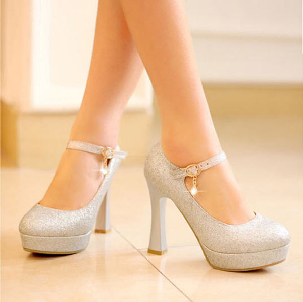 free shipping women s high heel shine shoes sexy high