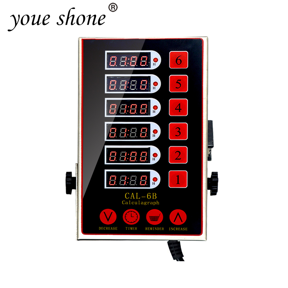 Commercial LCD Digital Screen Kitchen Timer Portable Cooking  6 Channels Kitchen button Timing Restaurant Clock Loud AlarmCommercial LCD Digital Screen Kitchen Timer Portable Cooking  6 Channels Kitchen button Timing Restaurant Clock Loud Alarm