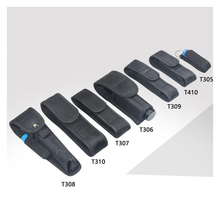 Every Size Flashlight Pouch Holster Case Nylon  Adhesive Belt Pouch Case for LED Flashlight Torch
