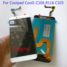 NEW For Letv LeEco Coolpad cool1 cool 1 c106 c106 7 c106 9 C103 R116 Full LCD Display + Touch Screen Digitizer Assembly