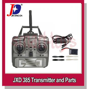 JXD 385 Transmitter / Remote Controller and USB charger Original 240mAh Battery Propellers for JD385 RC Quadcopter Spare Parts