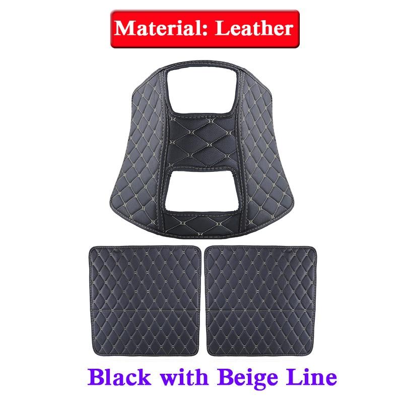 Car Styling 3pcs Leather Seat Back Anti Kick Mats For KIA KX5 2012 2018 Anti Child Kick Pad Covers Internal Mat Accessories-in Anti-Child-Kick Pad from Automobiles & Motorcycles    2