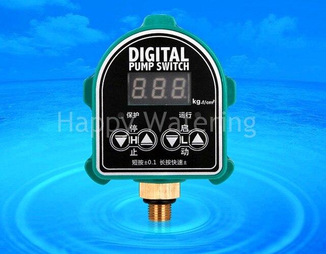 Digital Pressure Switch 220V Adjustable Pressure Controller for ...