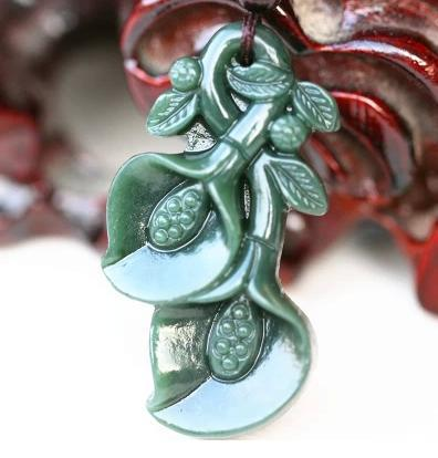 Shipping and carved nephrite jade blossoming jade pendants jade shipping and carved nephrite jade blossoming jade pendants jade pendant with certificate in pendants from jewelry accessories on aliexpress aloadofball Choice Image