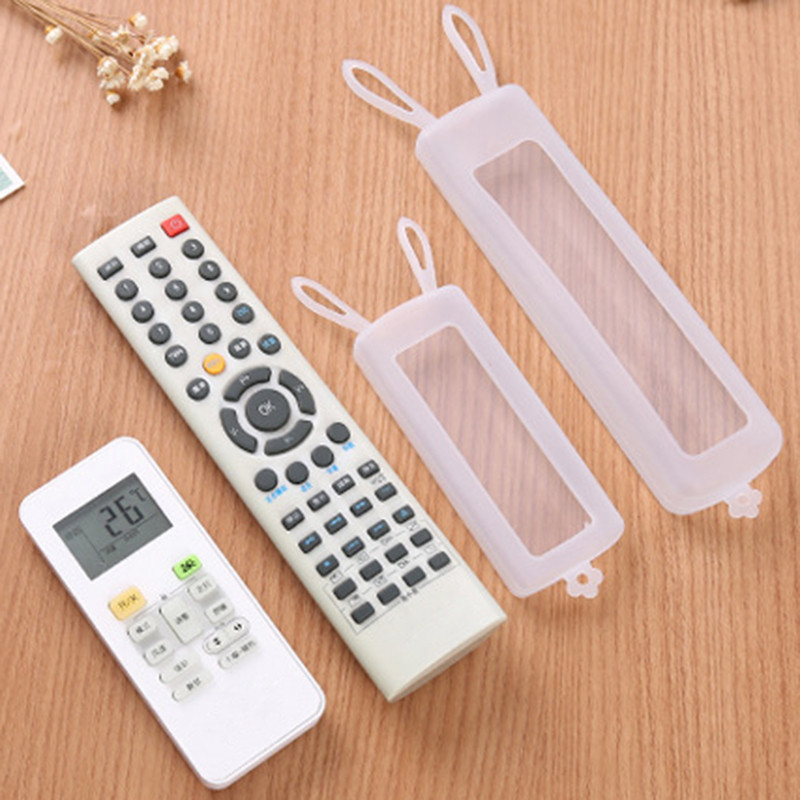 Best buy ) }}1pc 2 Sizes Remote Control Cover Silicone Transparent TV