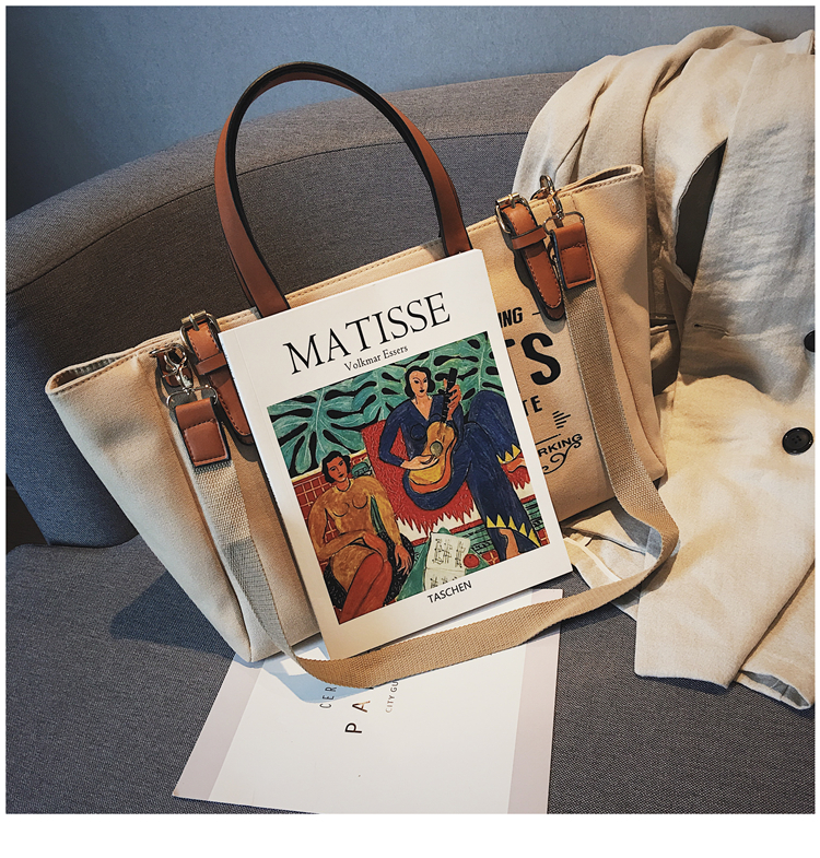 Luxury Ladies Bags Canvas Fashion Large Capacity Tote Bags Letter Shoulder Messenger Bags for Women 2018 Casual Tote Luis Vuiton 15