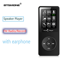 MP3 player built-in 8G and Speaker HIFI lossless music Recorder and FM Radio expand memory up to 128G mini 1.8inch Sport walkman mpooling tabletop am fm hifi wooden radio vintage retro classic usb sd player w built in speaker fm recorder 110 130v 220 240v