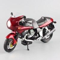 1 12 Scale Small Moto Guzzi V11 Le Mans Sports Tourers Motorcycle Endurance Race Diecast Plastic