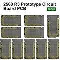 10 шт. Keyestudio прототип P сертификатом от сертификационной для Arduino MEGA 2560 R3 Щит DIY FR-4 экологически чистый