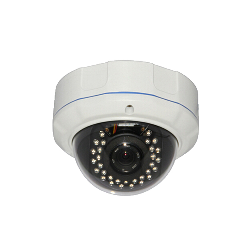 POE HD 960P 1.3MP IP Dome Camera Network Onvif P2P Indoor Security IR Night Vision gsm alarm system White Vandal proof