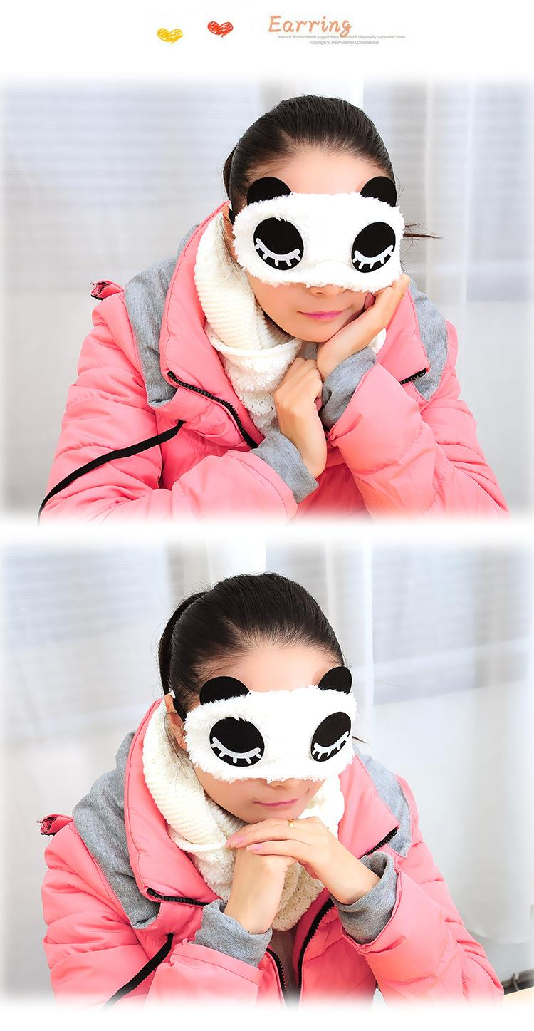 EyeShade Sleeping Eye Mask Cover Black Sleeping Eyepatch Blindfolds For Health Care To Shield The Light Goggles 1pcs/lot Ym04