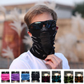 Hot Sale Anti Cold Mask Warm Winter Ski Bike Headband Bicycle Cycling Sports Half Face Neck Mask With Ear Hole Riding Scarf