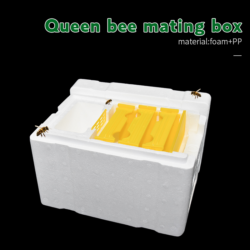 Bee Hive Harvest Beehive Queen Pollination Beekeeping Tool For Mating Breeding Copulation Reserve Foam Frames Pollination Box