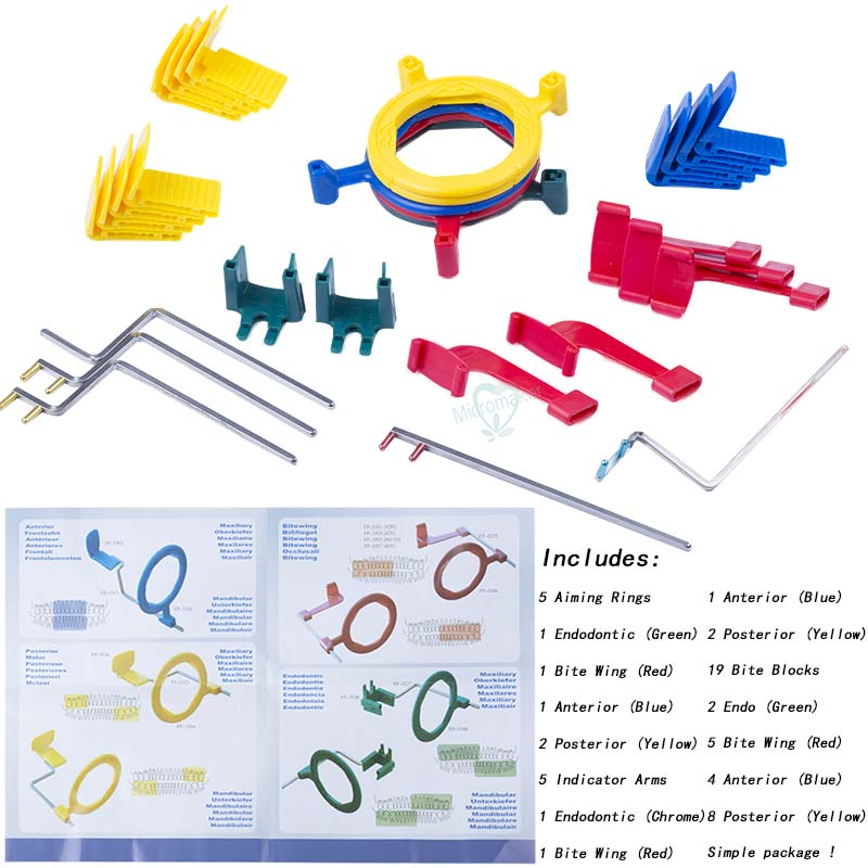 Rinn FPS 3000 Dental X Ray Complete Positioning System XCP Kit Positioner Holder