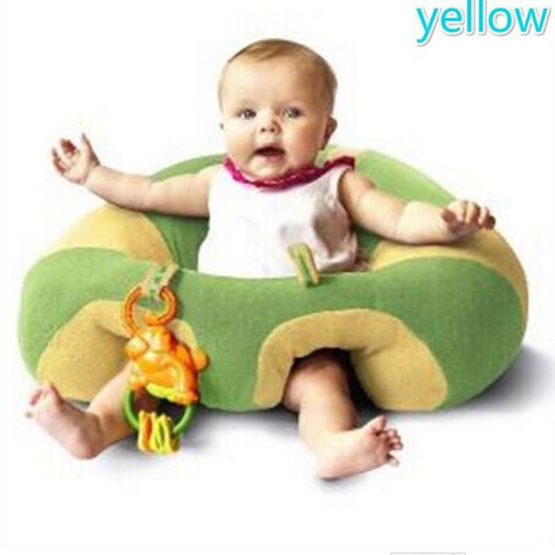 Emmababy Hot Colorful Classic Infant Baby Support Seat Soft Cotton Travel Car Seat Pillow Cushion Toys 0-2Year