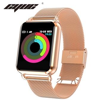 CYUC Q3 Smart watch Men waterproof Dynamic Blood Oxygen Pressure Pedometer fitness tracker Heart Rate smartwatch Smart Watches