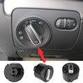Alta calidad ABS Interruptor Giratorio Interruptor de Los Faros Auto Para VW Golf 5 6 GTI Mk5 Mk6 Jetta 5 Passat B6 Touran Tiguan 5ND 941 431 A