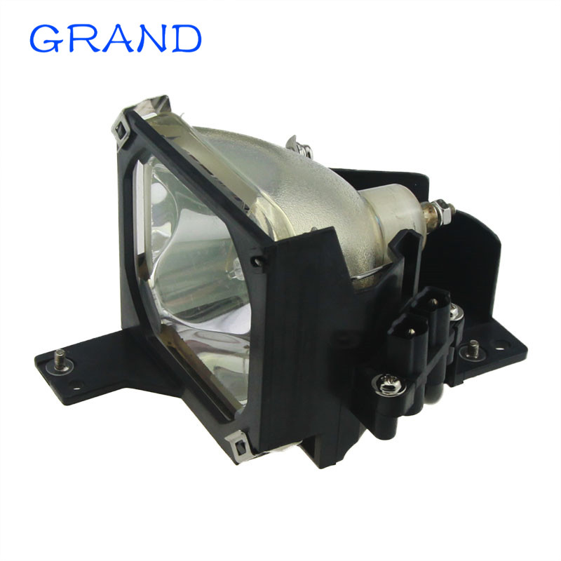 ELPLP16 High Quality Replacement Lamp With Housing For EPSO N PowerLite 51c 71c;EMP-51 EMP-51L EMP-71 Projectors  HAPPYBATE