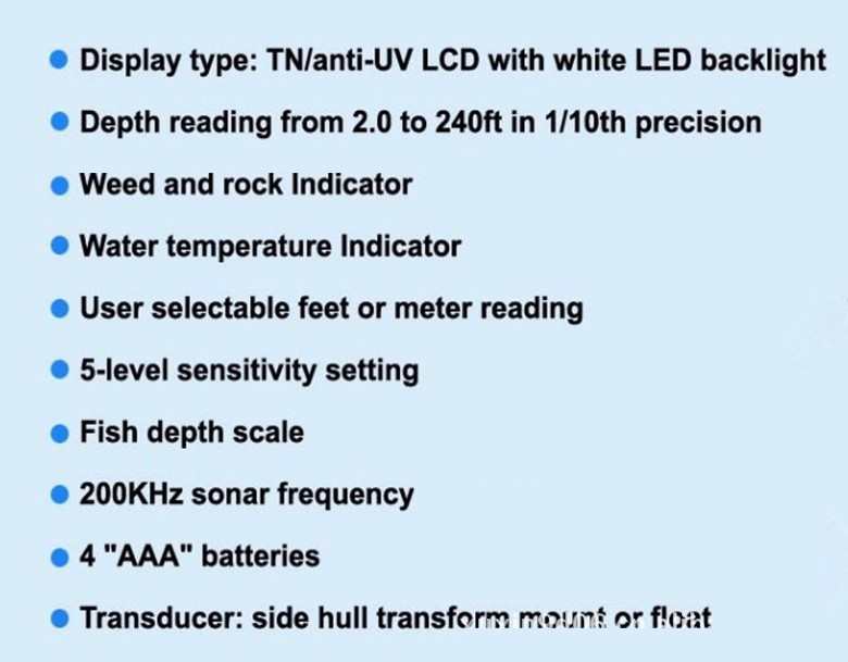 China portable fish finder Suppliers