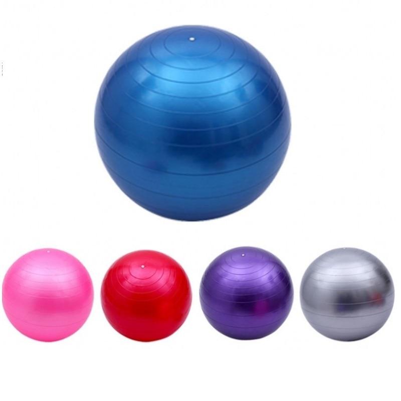 <+>  65 см Yoga Balance Ball Тренировка Фитнес Ball Yoga Fit-ball Упражнения шары 5 цветов Упражнения для ①