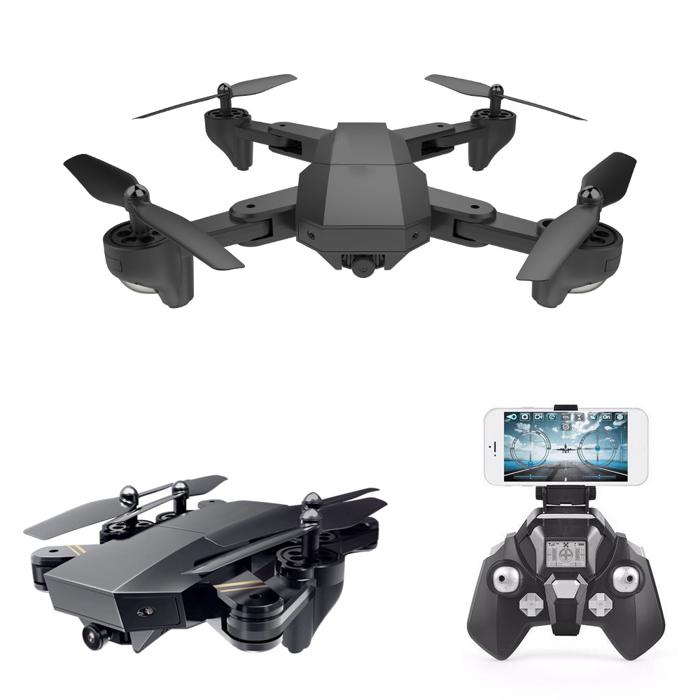 Phoota In Stock 2.4GHz WIFI FPV With Wide Angle HD 0.3MP Camera High Hold Mode Foldable RC Quadcopter With Camera