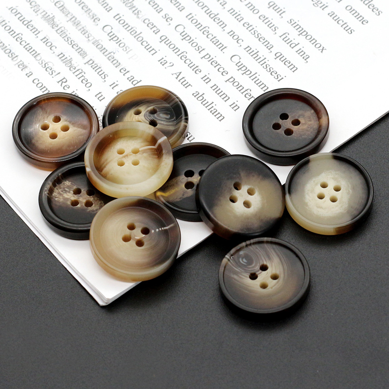 20pcs 4 holes button cheap trousers suit shirt buttons sewing jewelry accessory
