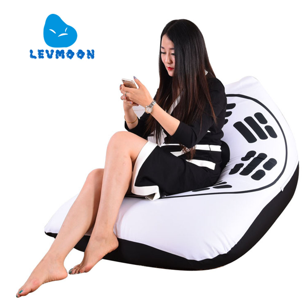 LEVMOON Beanbag Sofa Eight Diagrams Seat Zac Comfort Bean Bag Bed Cover Without Filling Cotton Indoor Beanbags Lounge Chair levmoon beanbag sofa chair jobs seat zac comfort bean bag bed cover without filling cotton indoor beanbags lounge chair