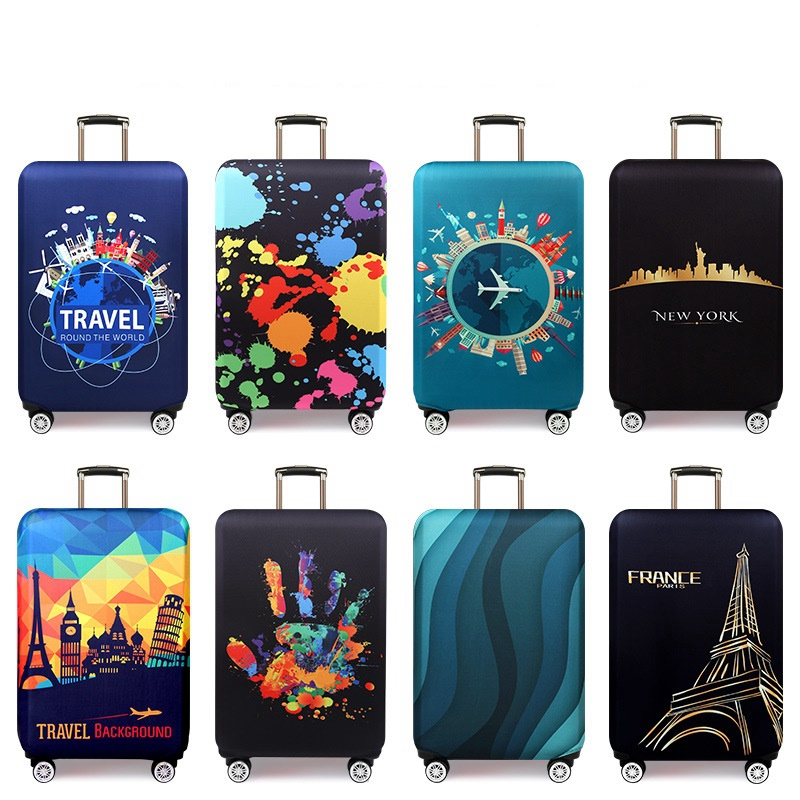 Luggage Travel Accessories Travel Bags Thicker Travel Suitcase Protective Cover Luggage Tags Drop Shipping Travel Accessories