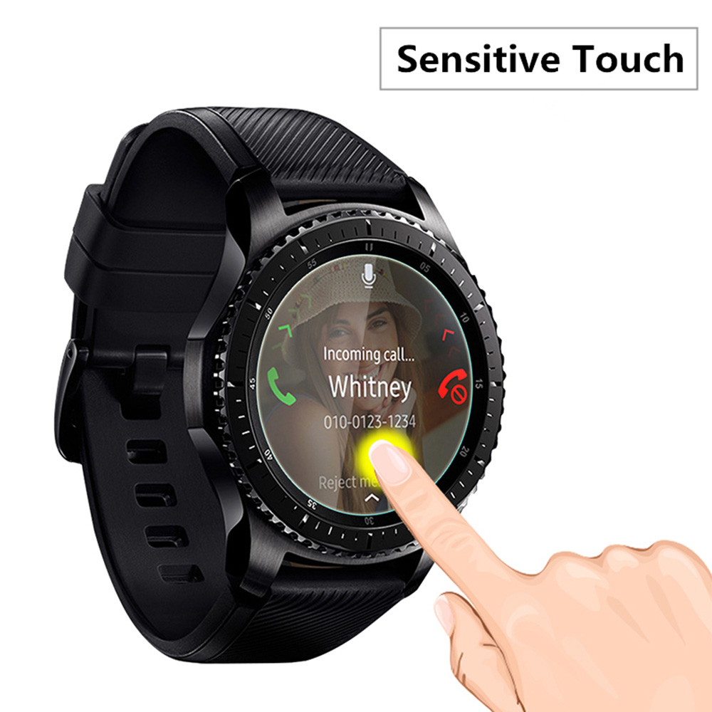 Tempered Glass Film For Samsung Gear S3 Frontier Tempered Glass S3 Smart Watch 9H Anti Scratch Thin Screen Protector Film стоимость