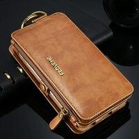 18 Card Slots Original Floveme Woman Leather Wallet Bag Case For IPhone 6 6S 6s Plus