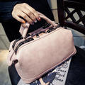 2017 de Alta Qualidade Do Vintage Boston Bag Famoso Designer de Bolsas de Marca Bolsas de Couro Das Mulheres Saco Do Mensageiro Sólida Sacola Pequena L942
